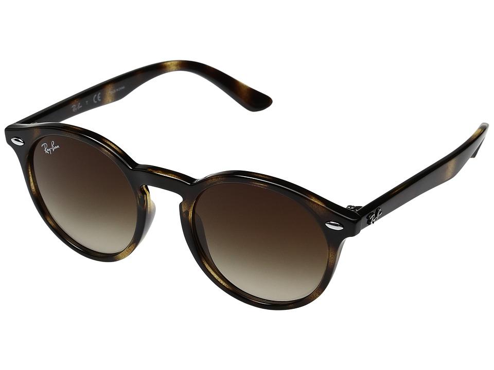 Ray-Ban Junior RJ9064S 44mm (Youth) (Havana/Brown Gradient) Fashion Sunglasses