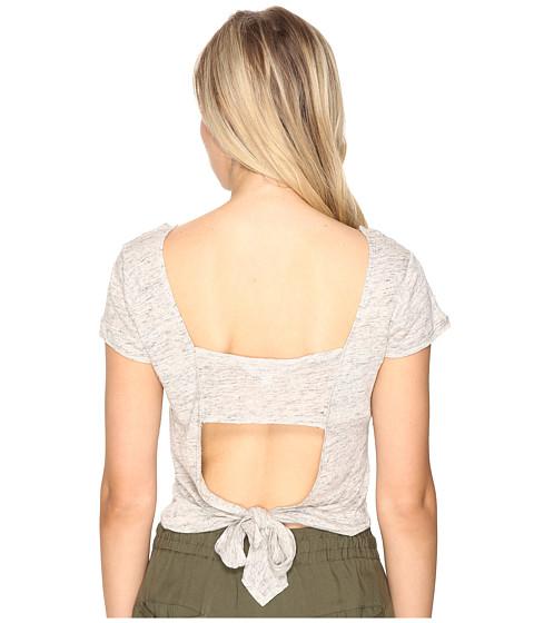 BB Dakota Clarin Open Back Tee Shirt