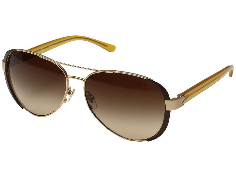 Tory Burch 0TY6052 (Gold/Brown Gradient) Fashion Sunglasses