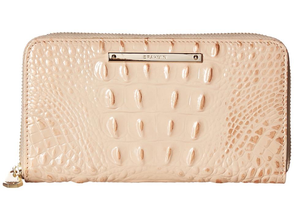Brahmin Suri (Apricot) Clutch Handbags