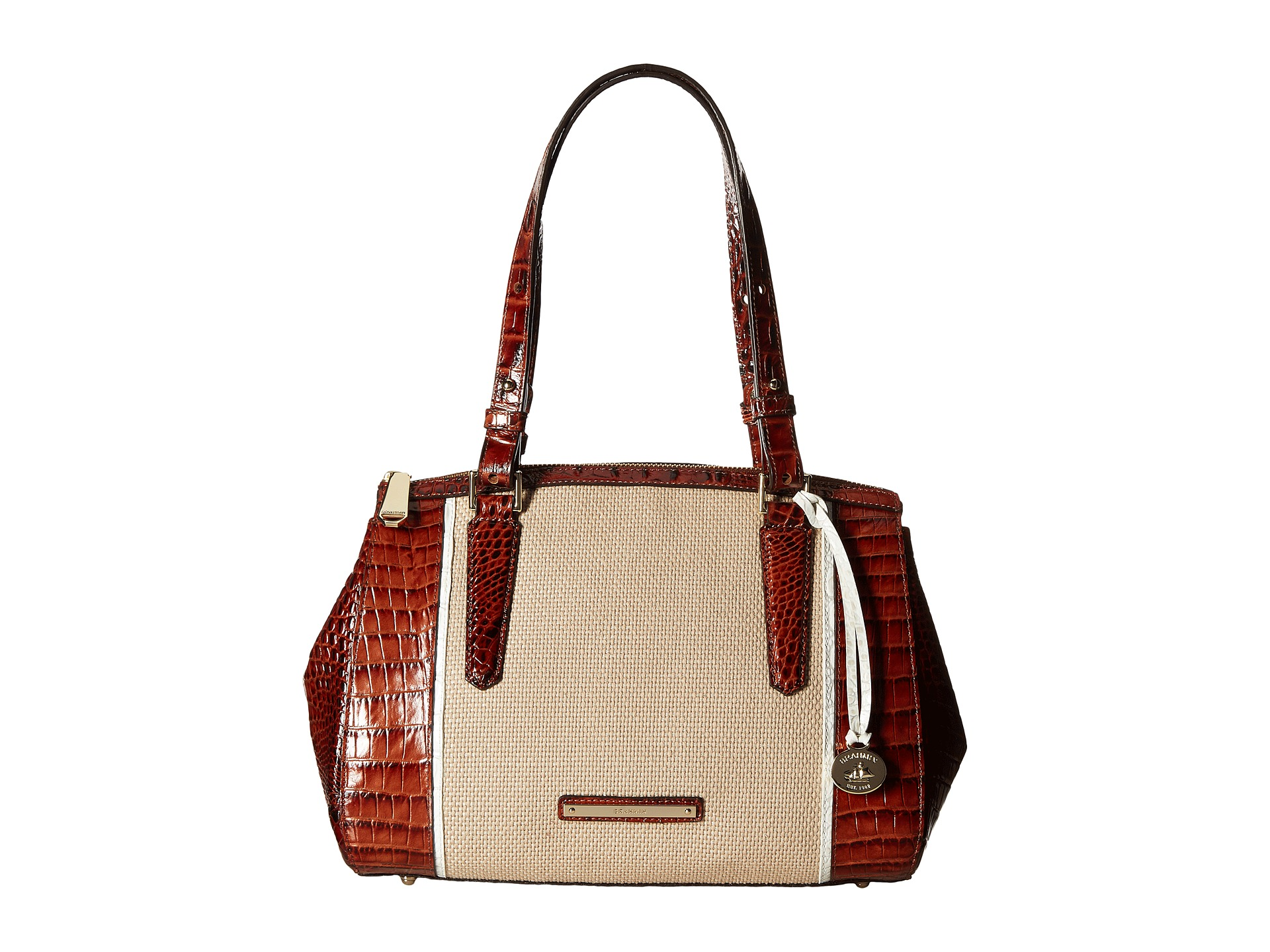 Brahmin Small Lincoln Satchel, Bags, Women | Shipped Free at Zappos
