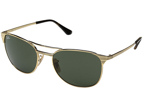Ray-Ban Signet 0RB3429M 55mm - Gold/Green