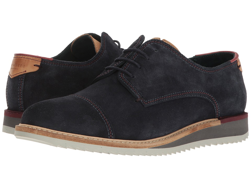 Ted Baker Gliyne (Dark Blue Suede) Men