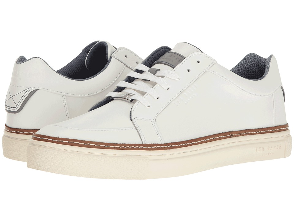 Ted Baker Rouu (White Leather) Men