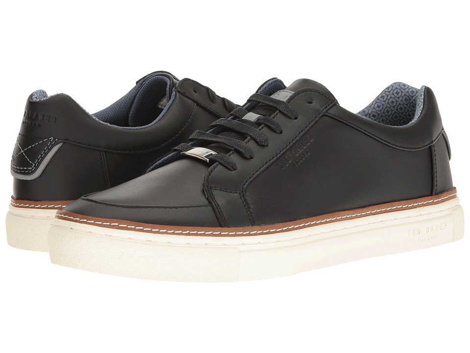 Ted Baker Rouu (Black Leather) Men