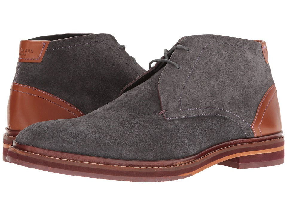 Ted Baker Azzlan (Grey Suede) Men