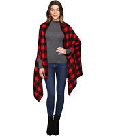 Michael Stars - Buffalo Check Scarf Cape