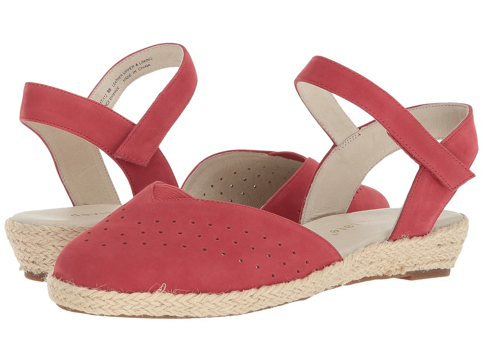 David Tate - Canyon (Red Nubuck) Womens Sandals