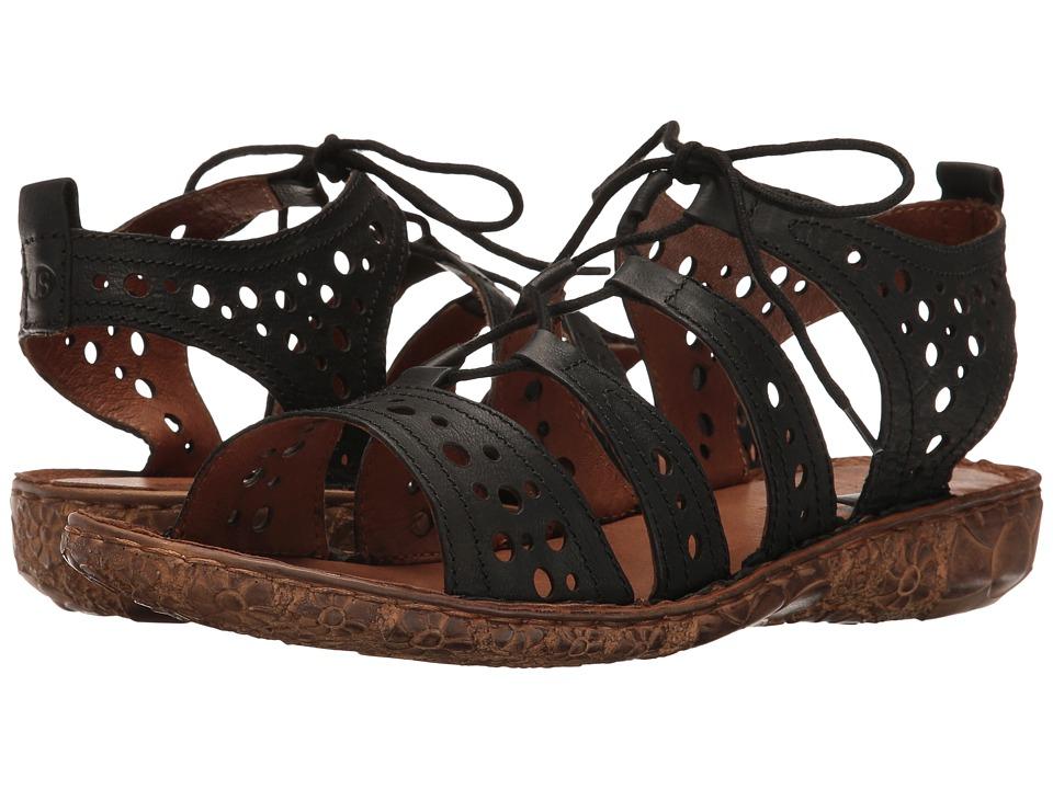 Josef Seibel Rosalie 15 (Black) Women's Shoes