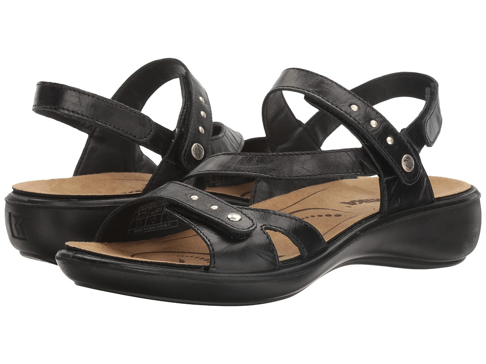 Romika Ibiza 70 (Black) Women's Shoes
