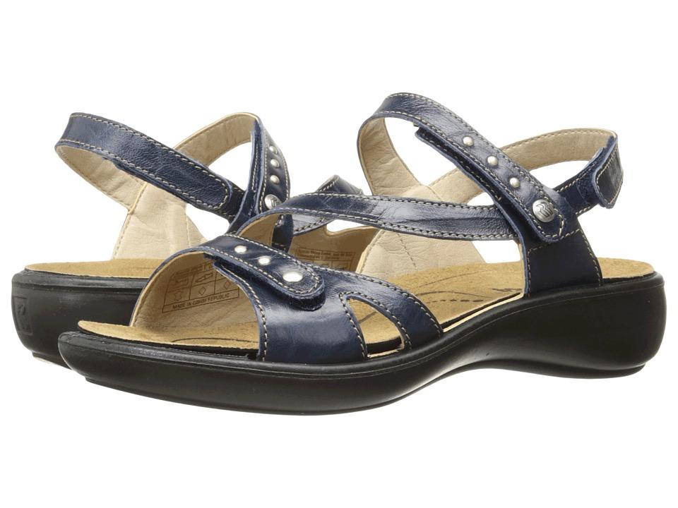 Romika of Germany Ibiza 70 (Blue) Women's  Shoes