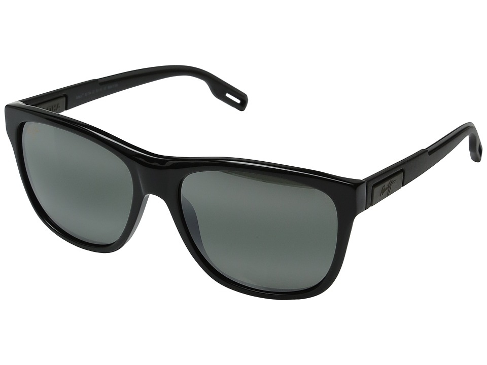 Maui Jim - Howzit (Gloss Black) Fashion Sunglasses