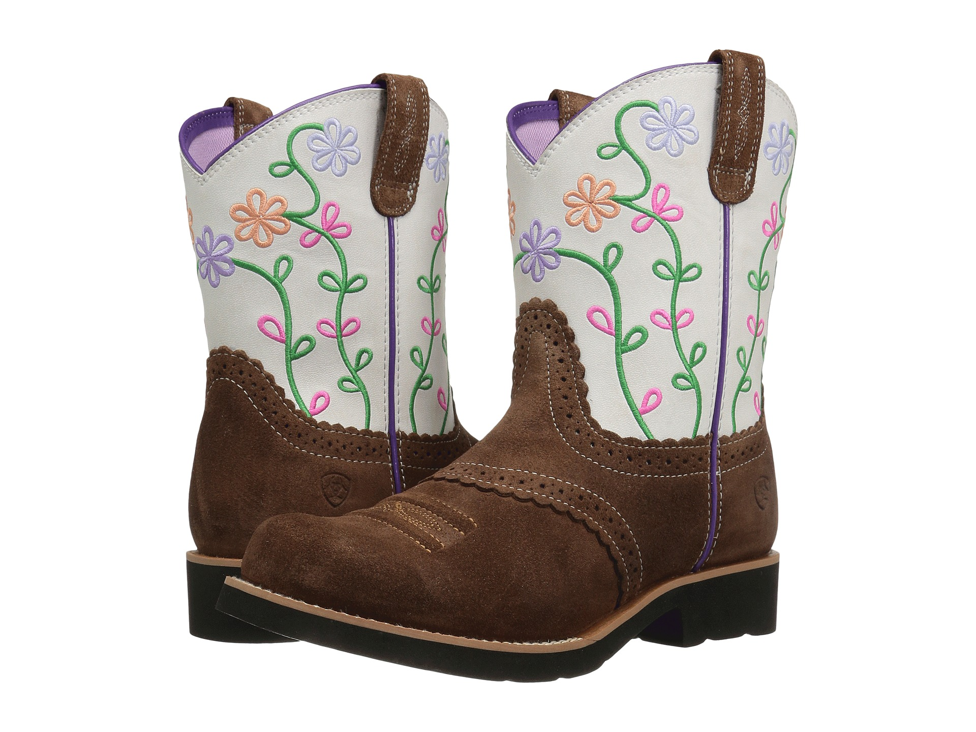 Ariat Kids Fatbaby Blossom (Toddler/Little Kid/Big Kid) - Zappos ...