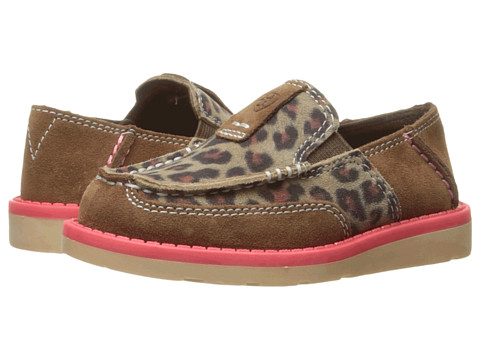 Ariat Kids Cruiser Light (Toddler/Little Kid/Big Kid) - Earth/Cheetah