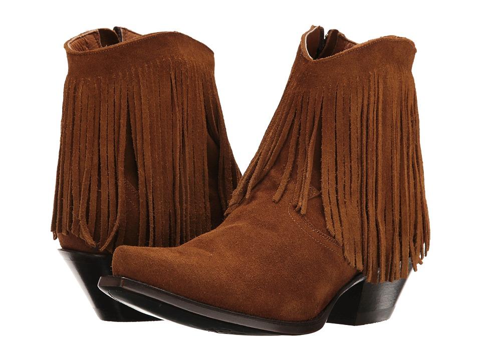 Dan Post Jules (Amber Suede) Cowboy Boots