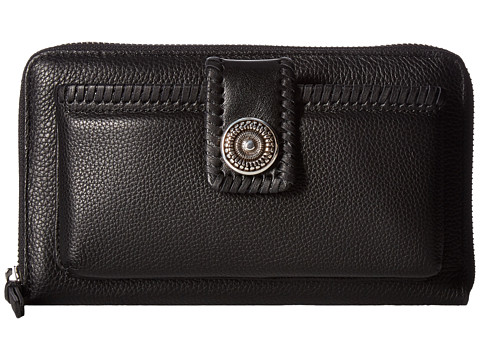 Brighton Tunisia Pocket Wallet - Black
