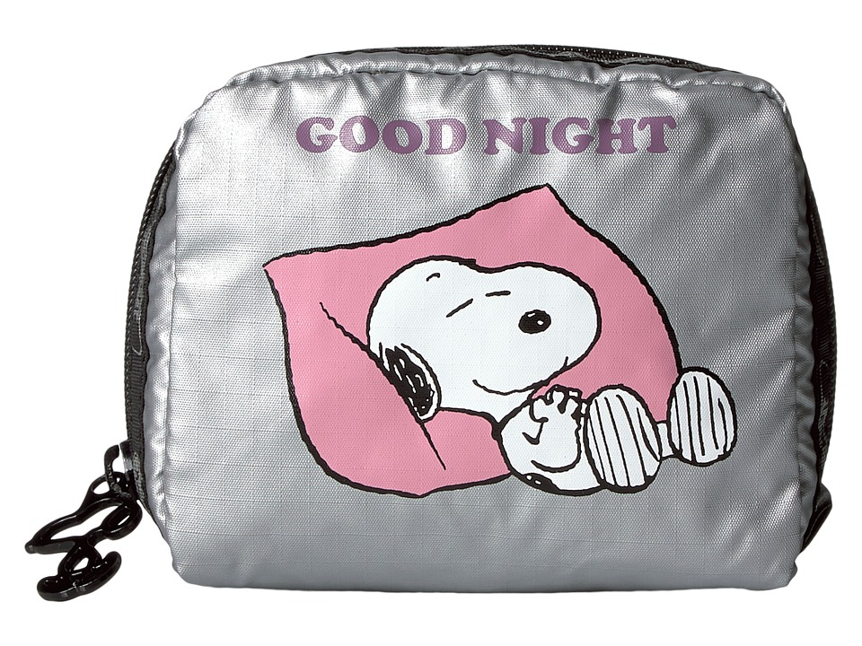 LeSportsac Square Cosmetic (Snoopy Goodnight) Cosmetic Case