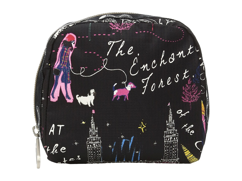LeSportsac SQ Essential Cosmetic Case (Wonderland) Cosmetic Case