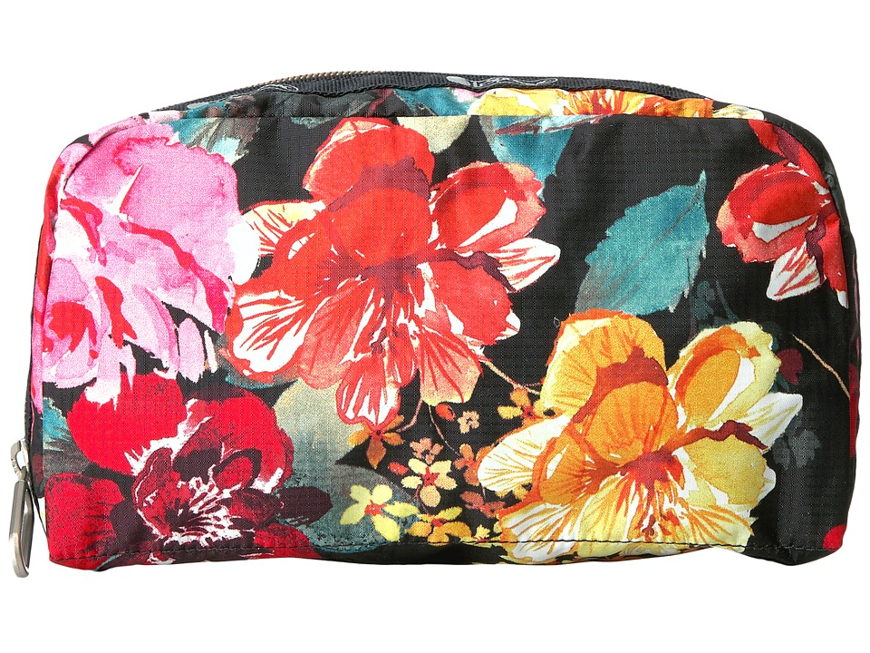 LeSportsac Essential Cosmetic Case (Romantics Black) Cosmetic Case
