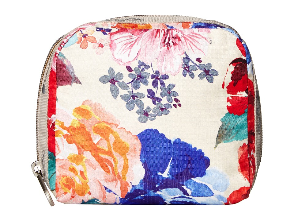 LeSportsac SQ Essential Cosmetic Case (Romantics Cream) Cosmetic Case