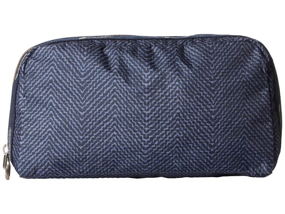 LeSportsac Essential Cosmetic Case (Herringbone Blue) Cosmetic Case