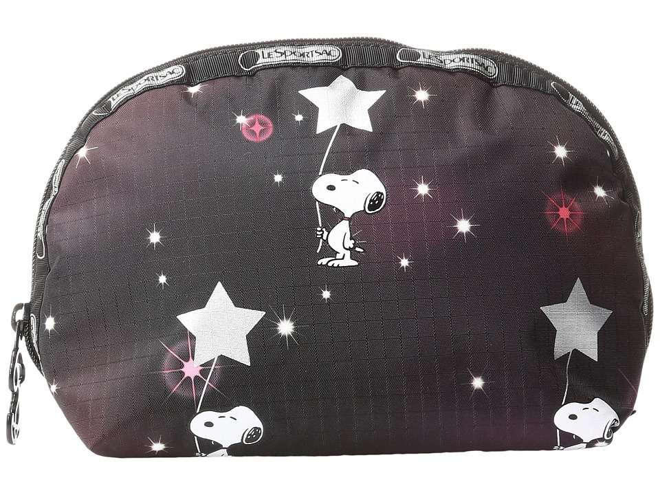 LeSportsac Medium Dome Cosmetic (Snoopy in The Stars) Cosmetic Case