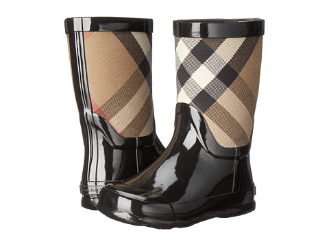Burberry Kids Ranmoor Boot (Toddler) - Black