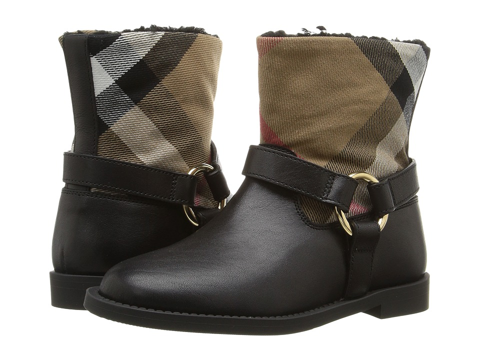 Burberry Kids - Queenstead Shoe (Toddler/Little Kid) (Bla...