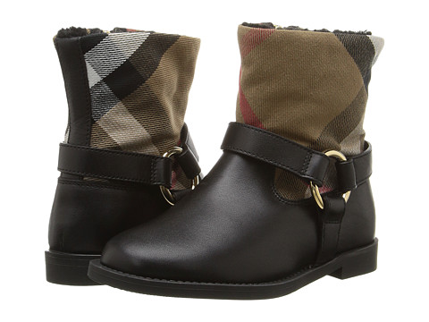 Burberry Kids Queenstead Shoe (Toddler) - Black