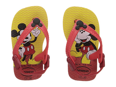 Havaianas Kids Disney Classics Sandals (Toddler) - Red/Black