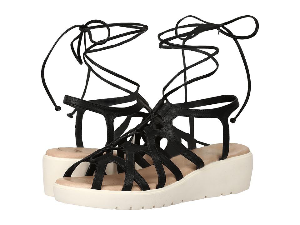 Johnston  +  Murphy - Chasity (Black Italian Calfskin) Women's Sandals