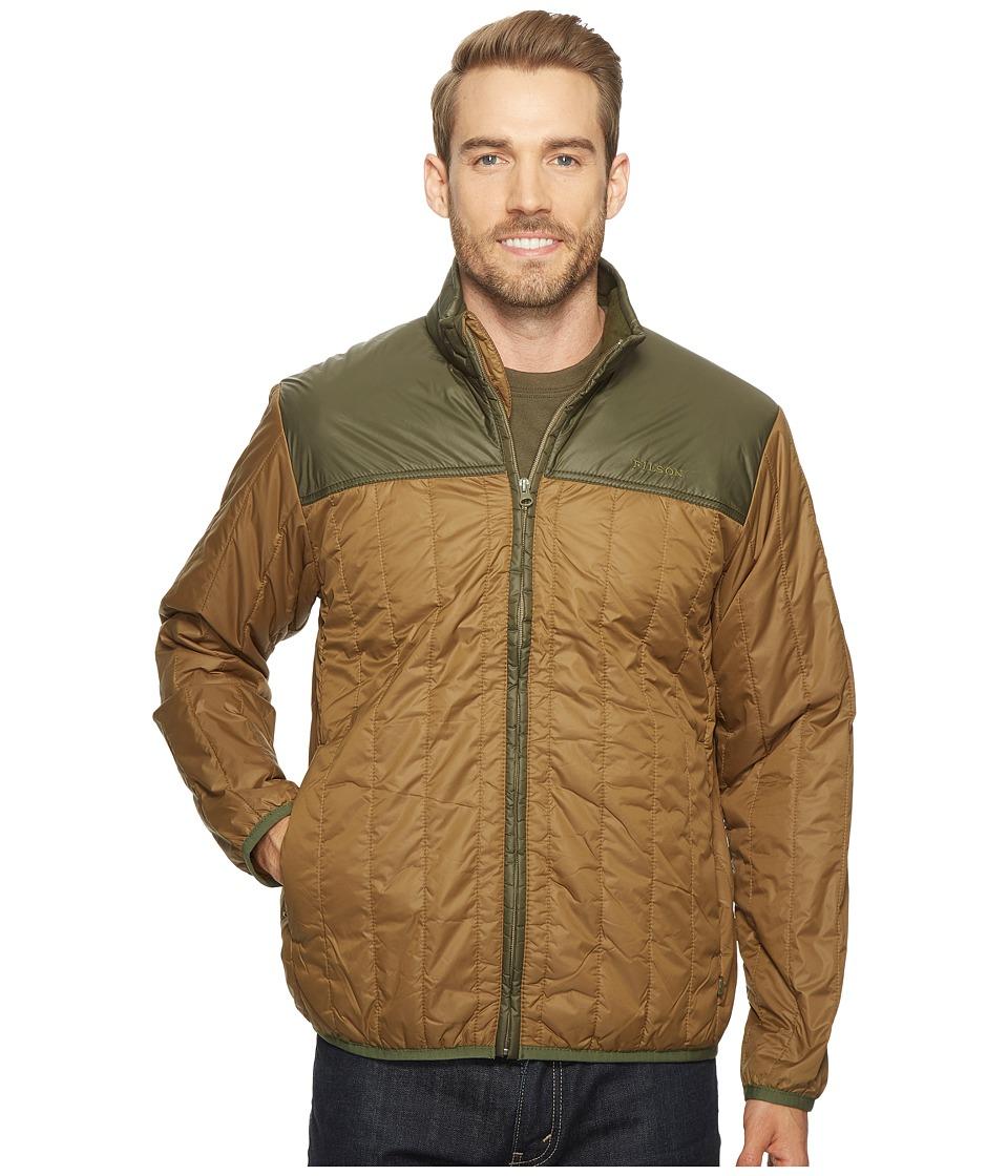 Filson Ultralight Quilted Jacket (Field Olive) Men's Coat