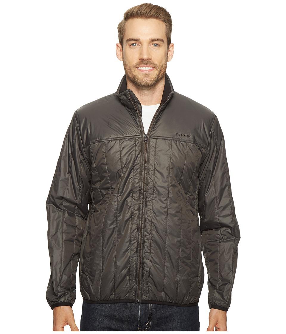 Filson Ultralight Quilted Jacket (Raven) Men's Coat