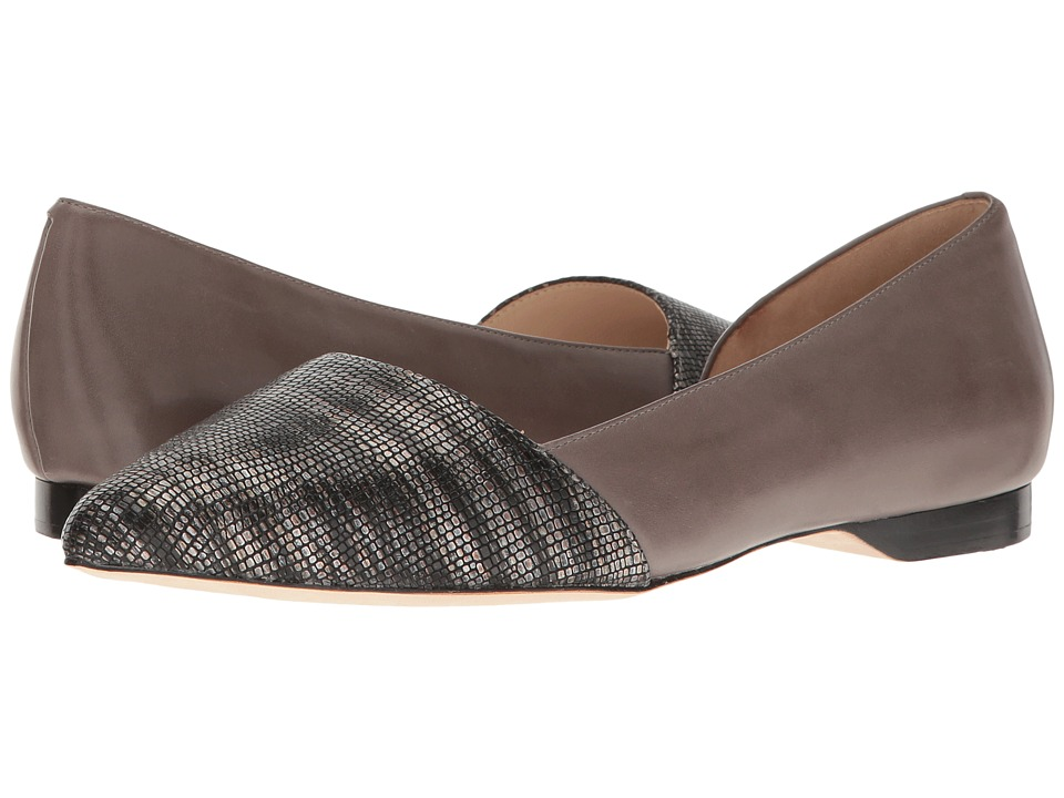 Cole Haan - Amalia Skimmer (Gray/Storm Lizard/Stormcloud) Womens Flat Shoes