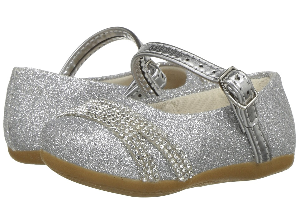 Pampili Angel 4815 (Infant/Toddler) (Silver) Girl's Shoes