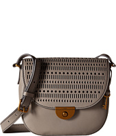 Fossil - Emi Perf Leather Saddle Bag