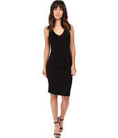 Nicole Miller - Classic Hip Tuck Jersey Dress