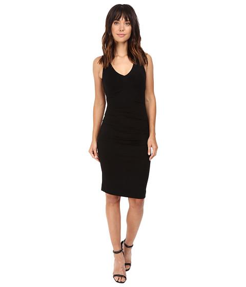 Nicole Miller Classic Hip Tuck Jersey Dress