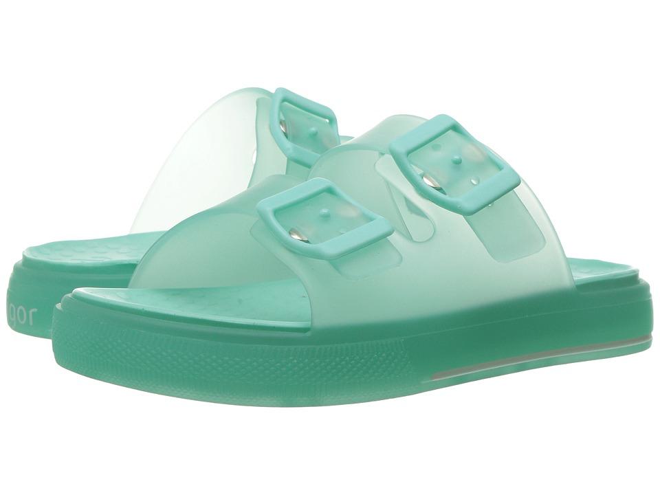 Igor Maui Monocolor (Toddler/Little Kid/Big Kid) (Aquamarine) Girl's Shoes