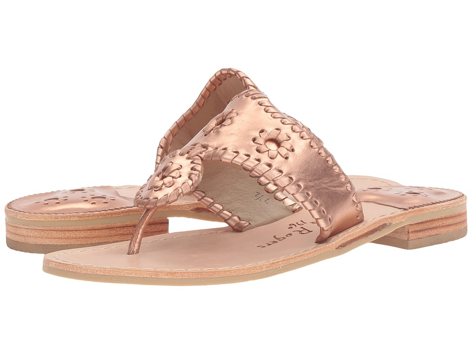 Jack Rogers Westhampton (Rose Gold/Rose Gold) Women's Shoes