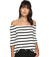 BB Dakota - Geri Striped Off the Shoulder Top