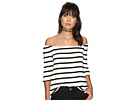 Geri Striped Off the Shoulder Top