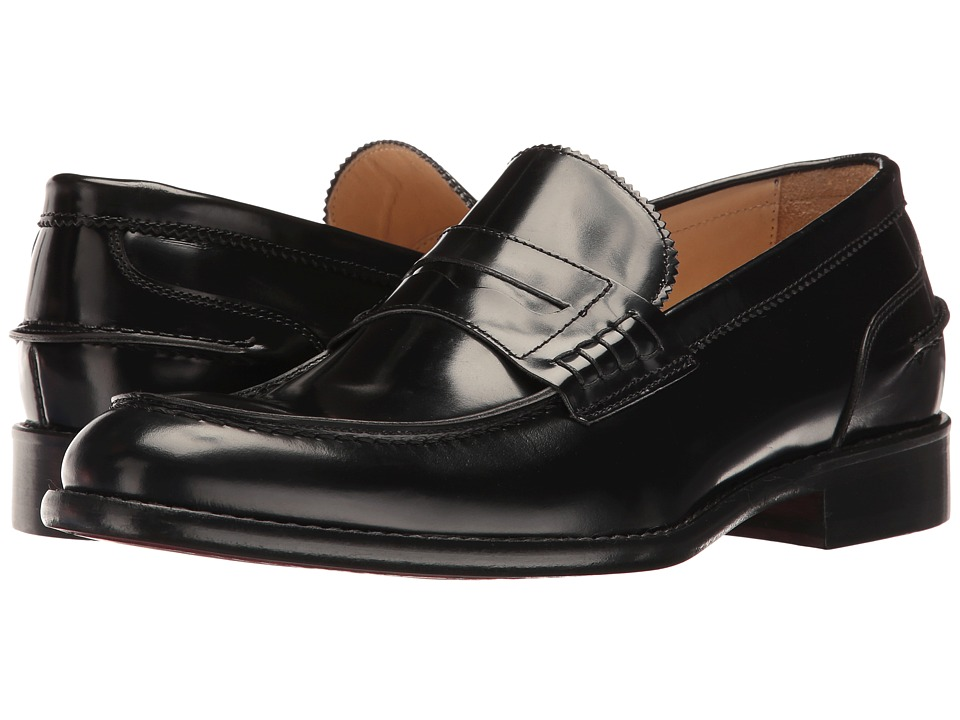 Bugatchi Lombardi Loafer (Nero) Men's Shoes