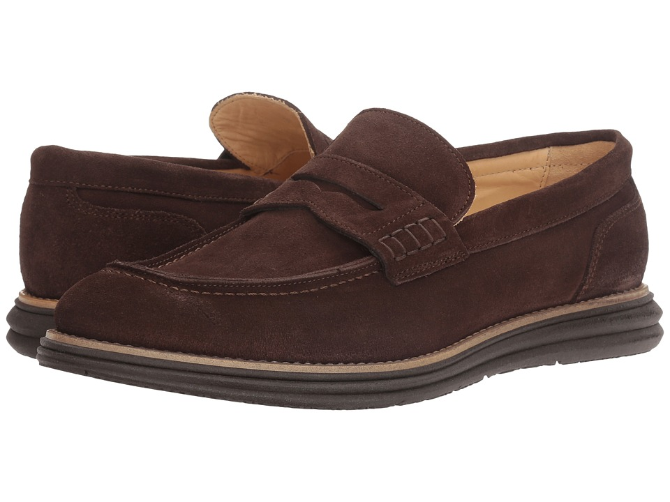 Bugatchi Lecce Loafer (Chocolate) Men's Shoes