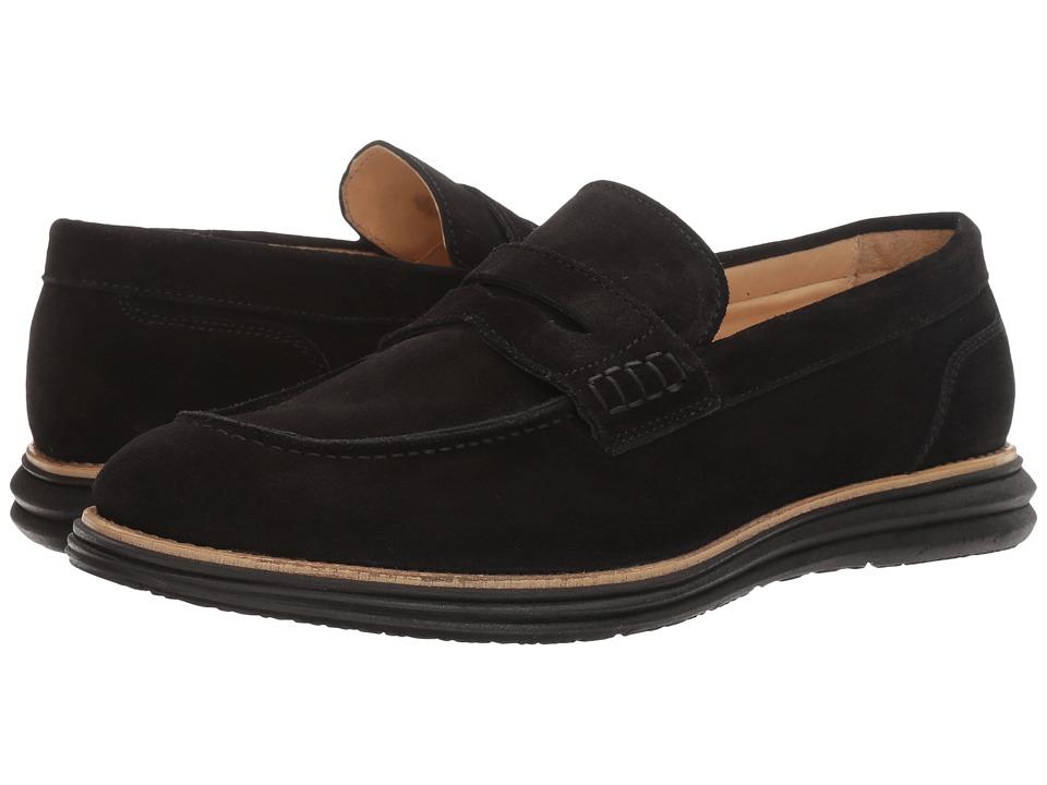 Bugatchi Lecce Loafer (Nero) Men's Shoes