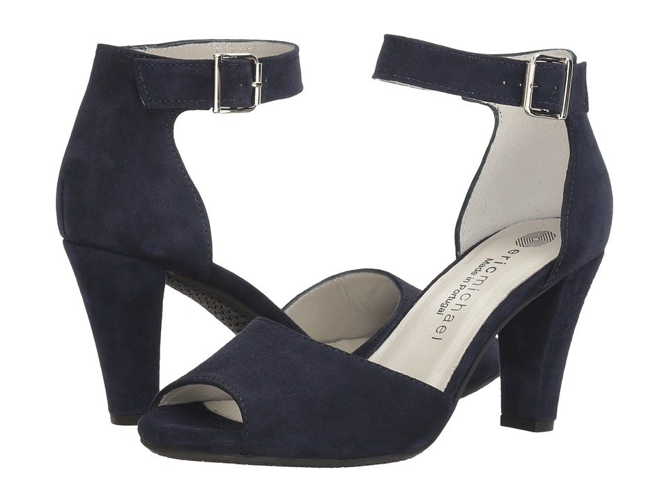 Eric Michael Kingston (Navy) Women's Shoes