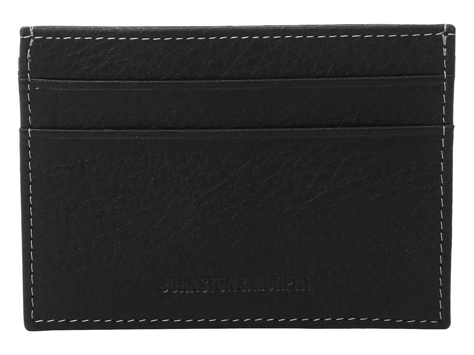 Johnston & Murphy - Weekender Wallet (Black) Wallet Handbags