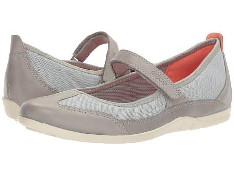 ECCO Bluma MJ Sandal - Wild Dove/Concrete Cow Leather/Textile