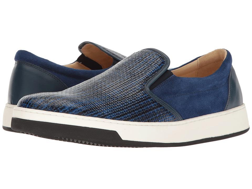 BUGATCHI - Cinque Terre Sneaker (Blue) Mens Shoes