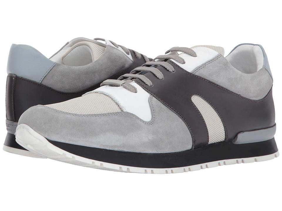 BUGATCHI - Portifino Sneaker (Grigio) Mens Shoes